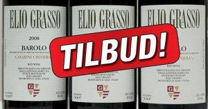 Elio Grasso barolo på tilbud sept 2016