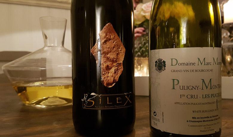 2010 Didier Dagueneau Pouilly-Fumé Silex (t.v), 2012 Marc Morey Puligny-Montrachet Les Pucelles